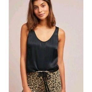 Floreat Loved by Anthropologie Satin Tank Top